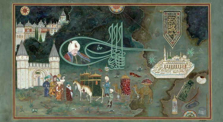 Kutsal Emanetlerin İstanbul'a Gelişi