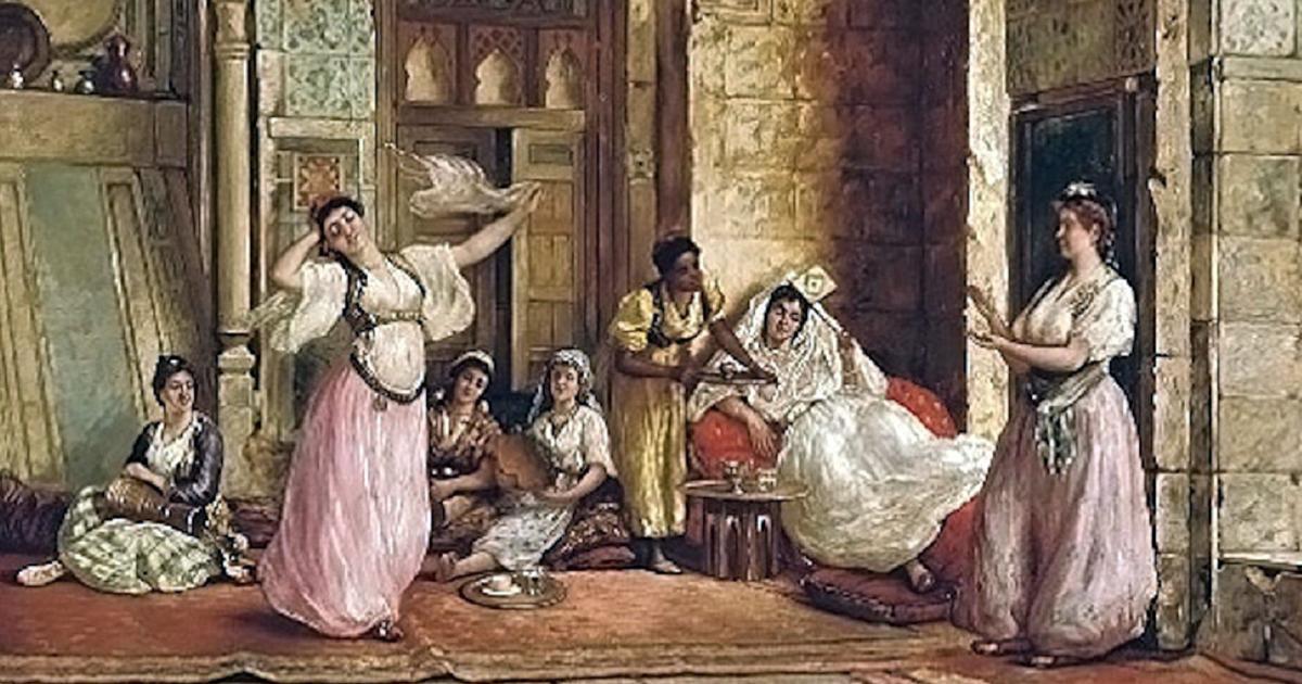 Müslüman Köle Kadın Cariye