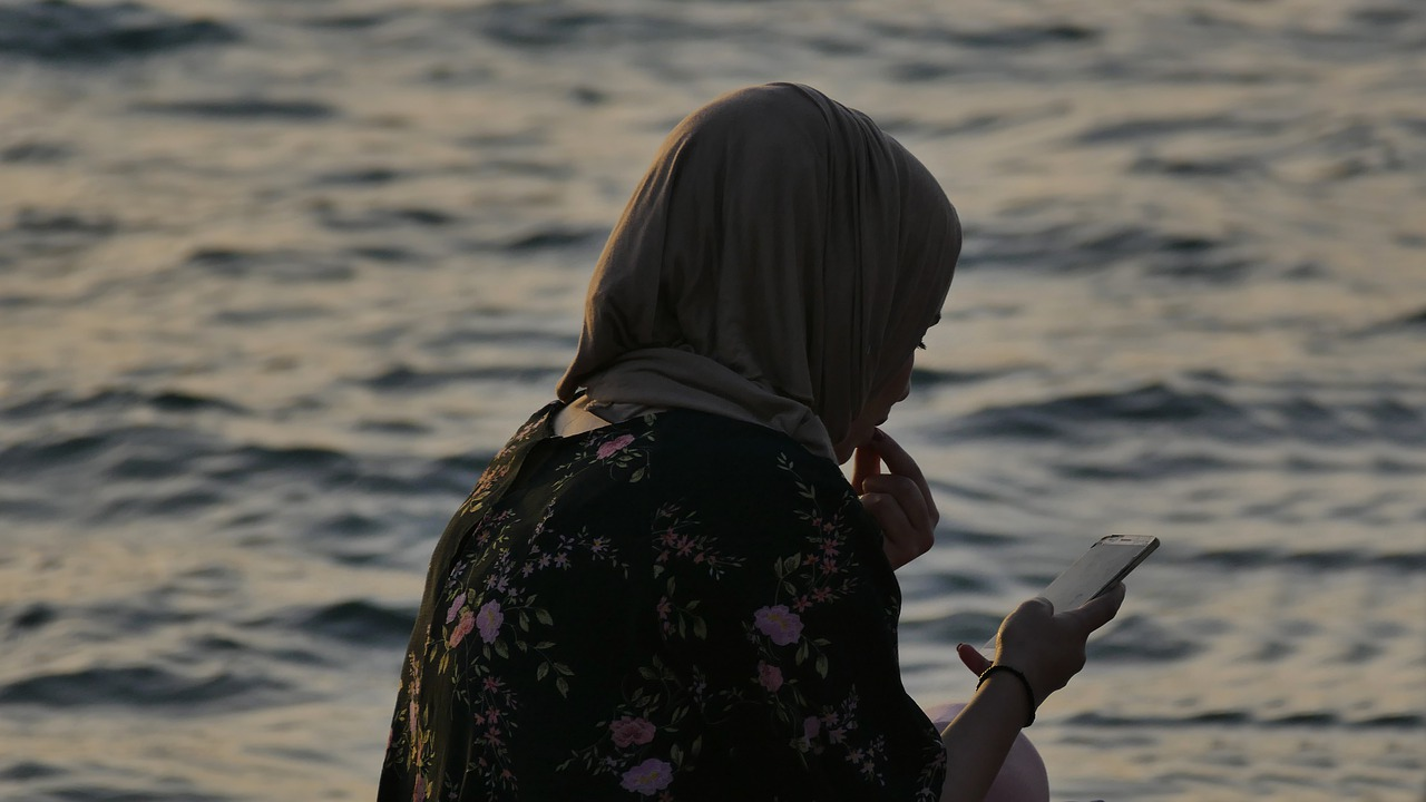 Müslüman Mümin Kadınlar Anne